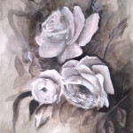Study of Roses in Burnt Umber (2011)